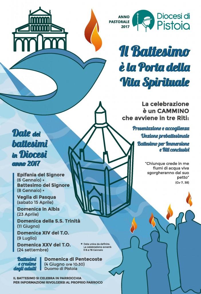 Date Battesimi Diocesi di Pistoia 2017